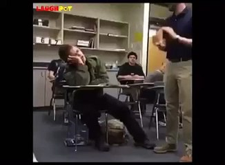 funny sleeping prank