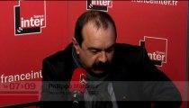 """Philippe Martinez (CGT) : """"Au foot, ça m'est arrivé d'être remplaçant mais pas dans le syndicalisme"""""""