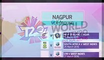 ICC T20 Cricket world Cup 2016 Schedule, Venues, Groups Details - Video Dailymotion