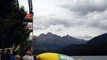 Fun Jumping on the St. Moritz Lake