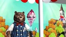 Finger Family Nursery Rhymes for Children Ice Cream Cartoons   Finger Family Children Nurs