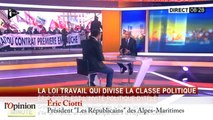 Loi Travail - Éric Ciotti (LR) : « On manipule ces jeunes avec des idées fausses »