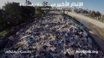 Les décharges sauvages de Beyrouth vues du ciel par un drone