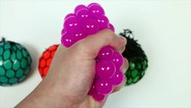 Cutting-Open-Squishy-Mesh-SLIME-BALLS-Funny--Weird-Color-Changing-Stress-Balls