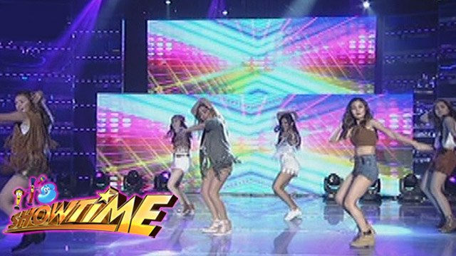 It's Showtime: Girl Trends bohemian-inspired performance