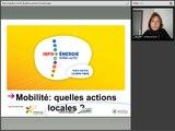 Mardi de la Transition Energétique : La mobilité durable dans les territoires 2/3