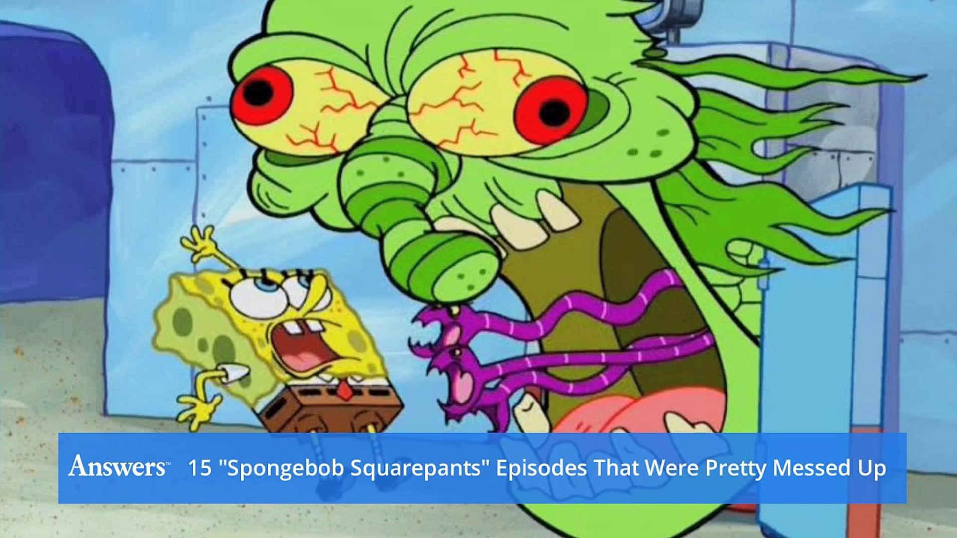 SpongeBob SquarePants Episodes That Were Pretty Messed Up