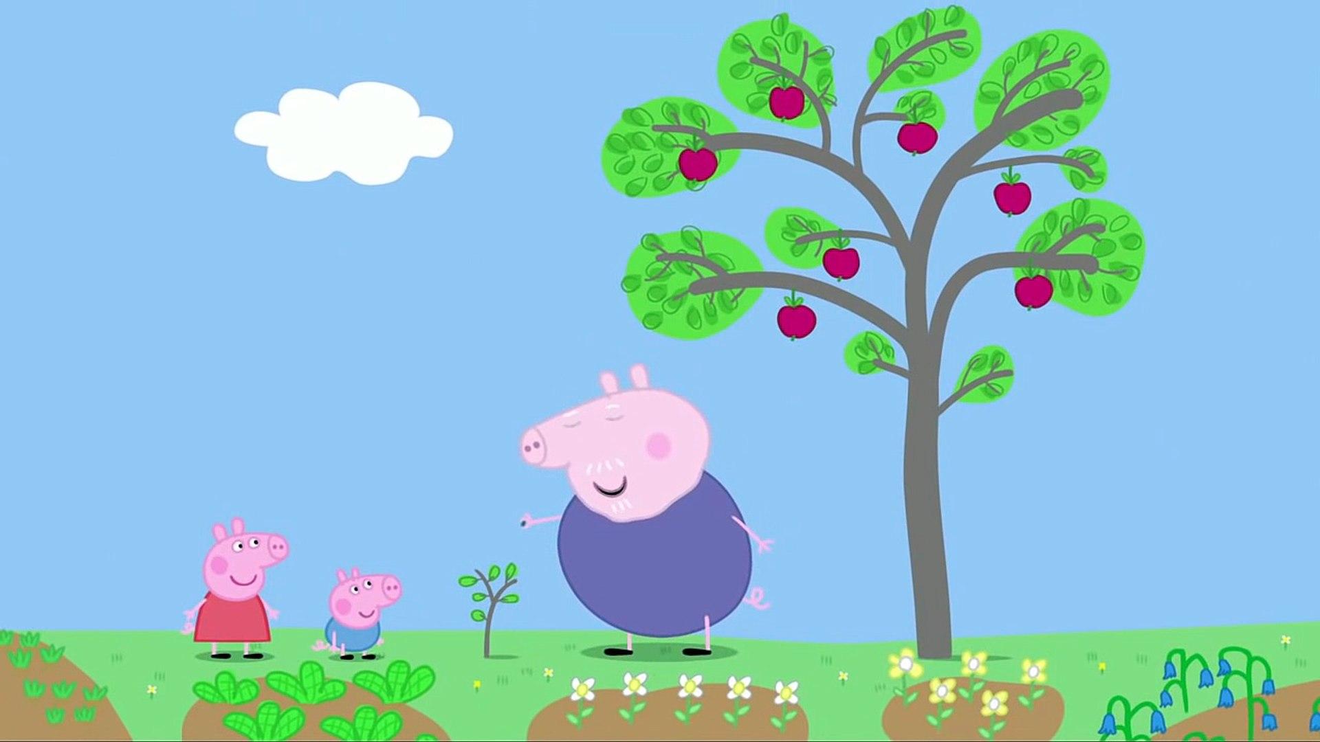 Свинка Пеппа на русском все серии подряд без титров на весь экран сезон 1 серия 10 В саду от 1akm