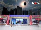 Gerhana Matahari di Sejumlah Kota Indonesia