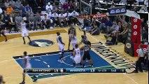 NBA Recap San Antonio Spurs vs Minnesota Timberwolves - March 8, 2016 - Highlights