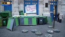 Loi Travail: blocages et barrages filtrants devant les lycées et universités