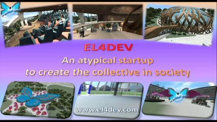 Change the world EL4DEV - Atypical startup to create the collective Morocco France Mediterranean Africa Europe Cooperate