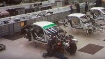 Un Aston Martin V8 Vantage GTE... ¡construido en 60 segundos!