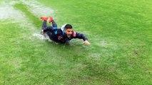 Ja si argetohen futbollistet e Napolit gjate stervitjes (Video)