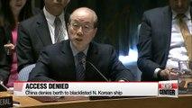China begins implementing UN sanctions on N. Korea