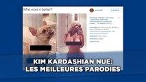 Kim Kardashian nue: Les meilleures parodies des internautes