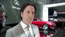 Infiniti Interview Alfonso Albaisa Executive Design Director, Infiniti Motor Company at 2016 Geneva Motor Show