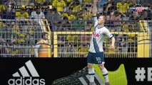 [FIFA 16 Prediction Scores] First Leg - Borussia Dortmund 1 - 2 Tottenham Hotspur - UEFA Europa League 2015/2016