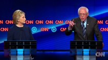 Michigan Hillary Clinton and Bernie Sanders debate events that happened in the 1990s