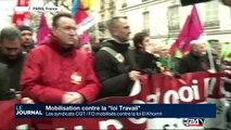"""Les syndicats CGT/FO mobilisés contre la loi """"El Khomri"""""""