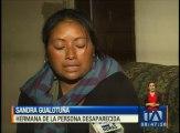 Mayra Vanesa Gualotuña desapareció hace 24 años