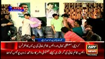 Waseem Aftab joins Mustafa Kamal & Co, joins presser at later's residence