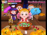 Baby Hazel on Halloween Party with friends # Play disney Games # Watch Cartoons