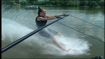Barefoot Waterskiing - skiing without skis. Only for the really brave!