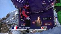Run Marion Haerty 3rd place - Fieberbrunn Kitzbüheler Alpen - Swatch Freeride World Tour 2016