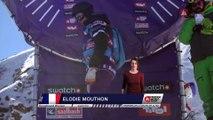 Winning run Elodie Mouthon - Fieberbrunn Kitzbüheler Alpen - Swatch Freeride World Tour 2016