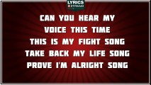 Fight Song - Rachel Platten tribute - Lyrics