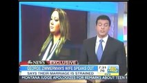 Heavily edited Shellie Zimmerman interview on GMA Aug 29 2013