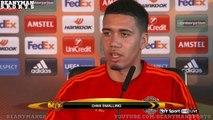 Liverpool vs Man Utd Louis van Gaal, Jurgen Klopp, Adam Lallana & Chris Smalling On Great