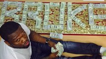 50 Cent Declares His $100 Bills on Instagram Are Fake