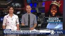 The Notorious B.I.G. - Rapper | This Week In History  Rapper Biggie Smalls dies