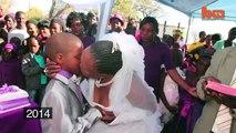 Menino de 9 anos se casa com mulher de 62 pela segunda vez