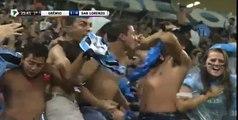 Gol de Falta Fred 1-0 - Gremio x San Lorenzo - Copa libertadores 2016