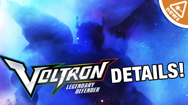 EXCLUSIVE Voltron Legendary Defender Details Revealed!