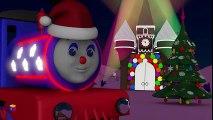 Dessins animés de Noël pour les enfants. Le train Tchou-Tchou fête la nouvelle année.  Dessins Animés Pour Enfants
