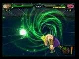 Broly legendaire vs super boo gohan tenkaichi 2 dbz