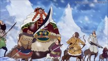 One Piece: Robin, Zoro and Luffy getting warm clothes! [586ep]