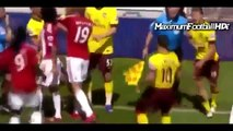 Football Fights-and Angry Moments ● ( Fights, Fouls, Dives-and Red cards) - Part 1