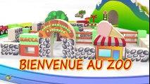 Dessins animés pour bébé en français. Le petit train et des animaux sauvages. Learn French  Dessins Animés En Français