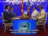 Mr. Adnan Oktar's live talk on A9 TV with the director of Egypt Bridges Foundation
