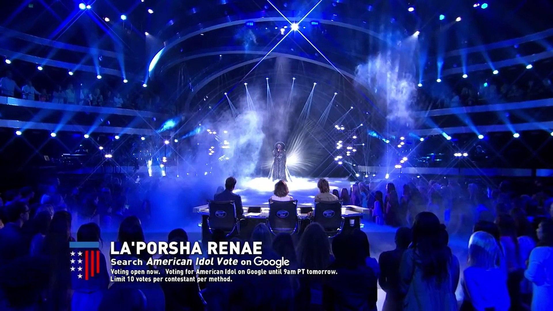 La'Porsha Renae - Top 8 - AMERICAN IDOL | AMERICAN IDOL-2016 | AMERICAN IDOL - SEASON 15