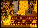 Bomberman 64 - World 3: Red Mountain - Stage 1: Hot on the Trail (Gold Cards and Custom Balls)