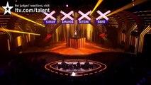 Paige Turley It Will Rain - Britain's Got Talent 2012 Live Semi Final - UK version