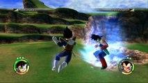 Dragon Ball Raging Blast 2 - Dragon Ball Z Raging Blast 2 Scouter Vegeta V.S Bardock - TheDonovan137