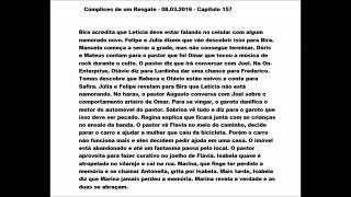 Chamada Cumplices de um Resgate 08 03 2016 Capitulo 157