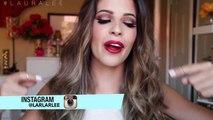 Classic Red Lips Neutral Eyes Makeup Tutorial + Hair Tutorial